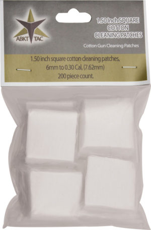 ABKT Tac Square Cotton Cleaning Patches