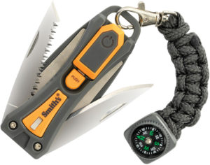 Smith's Sharpeners Survival Tool Knife/Saw