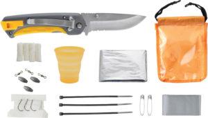 Smith's Sharpeners Survival Kit/Knife