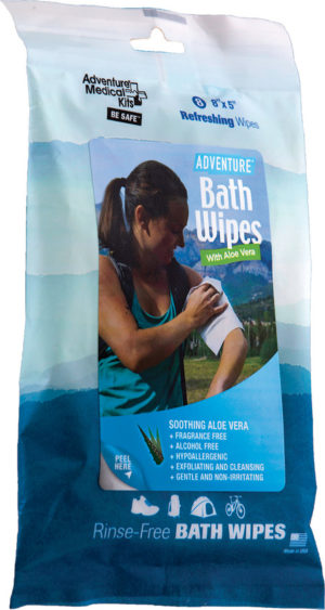 Adventure Medical Travel Bath Wipes