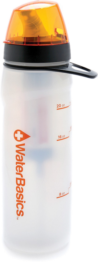 Aquamira GRN Line Filtered Water Bottle