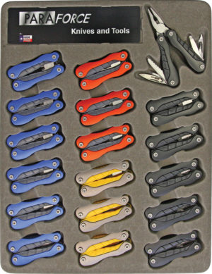 AccuSharp ParaForce Multitool Set 18pc