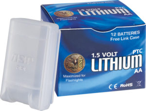 ASP AA Lithium Battery 12 Pk