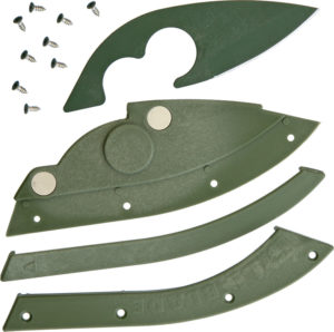 Bill Blade Bill Blade Knife OD Green (2″)