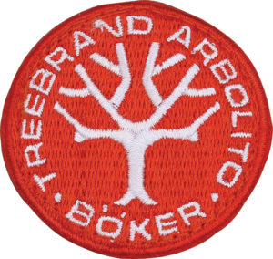 Boker Logo Patch Red