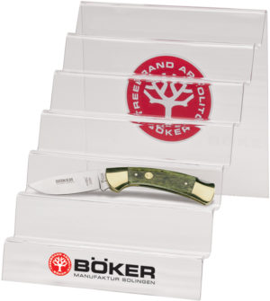 Boker Acrylic Knife Display Stand