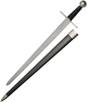 "Battle Tested Broad Sword (29.5"")"