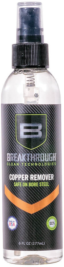 Breakthrough Clean Copper Remover 6oz Pump Spray