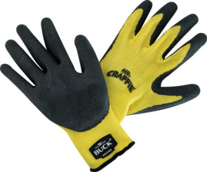 Buck Mr Crappie Fishing Gloves L