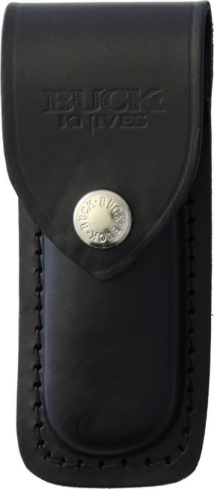 Buck Sheath for BU500 Black Leather