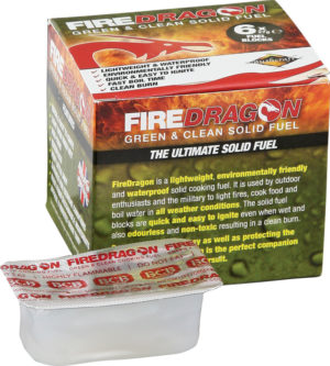 Bushcraft FireDragon Solid Fuel 6pk ORMD