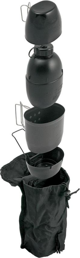 Bushcraft Dragon Cooking System Black