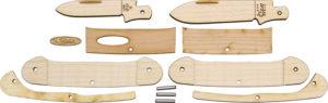 Case Cutlery Canoe Wooden Knife Kit