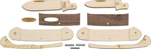 Case Cutlery Wooden Knife Kit Canoe