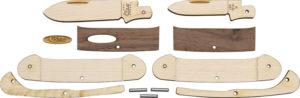 Case Cutlery Wooden Knife Kit Canoe