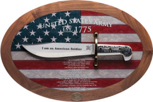 Case Cutlery US Army Bowie Display (9.5″)