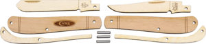 Case Cutlery Wooden Knife Kit Mini Trapper