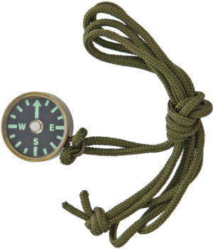 Combat Ready Compass with Neck Lanyard