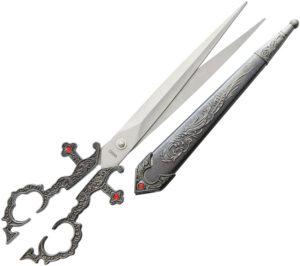 China Made Gray Renaissance Scissors