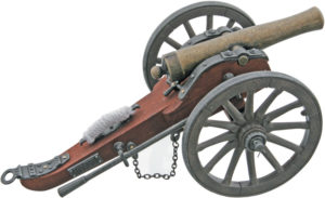 China Made Confederate Cannon Replica