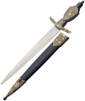 China Made Lion Crusader Dagger (9.25″)