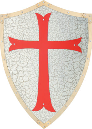 China Made Knights Templar Shield