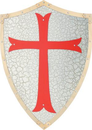 China Made Knights Templar Shield