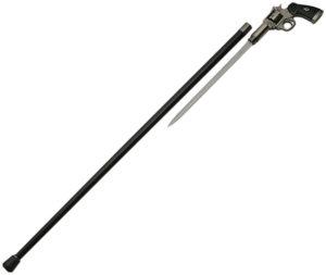China Made Gun Cane Metal Handle (12″)