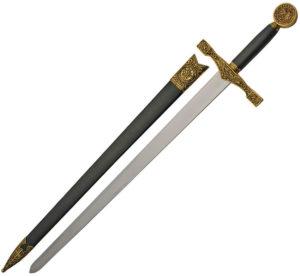 "China Made Gold Excalibur Sword (22.5"")"