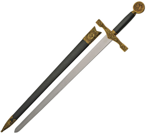 China Made Gold Excalibur Sword (22.5″)
