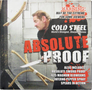 Cold Steel Aboslute Proof Promotional DVD