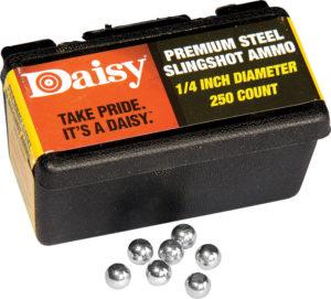 Daisy Steel Slingshot Ammo .25in