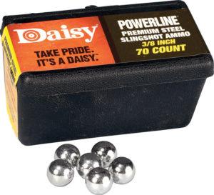 Daisy Steel Slingshot Ammo .38in