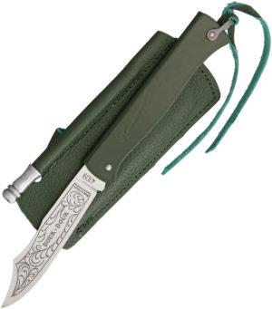 Douk-Douk Folder Green (3.13″)