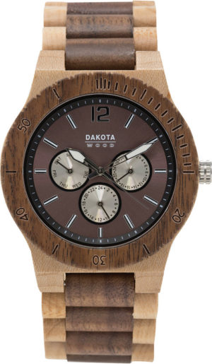 Dakota Wood Watch Tan