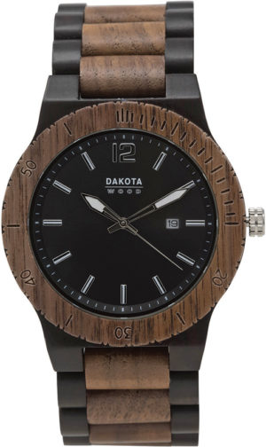 Dakota Wood Watch Blk