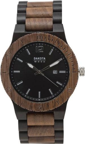 Dakota Wood Watch Blk