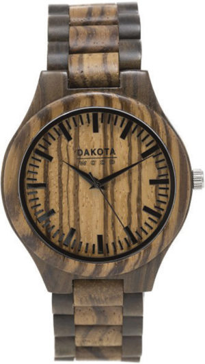 Dakota Watch Zebrawood