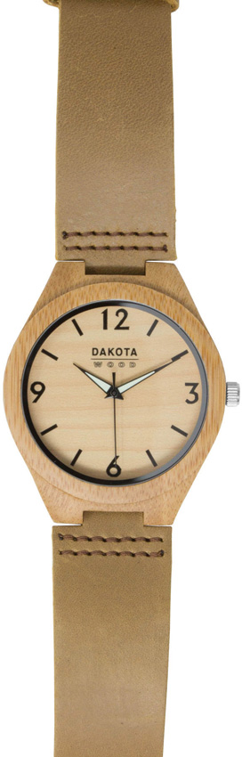 Dakota Bamboo Wrist Watch