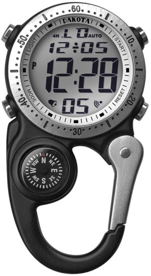 Dakota Mini Clip Microlight Watch Blk