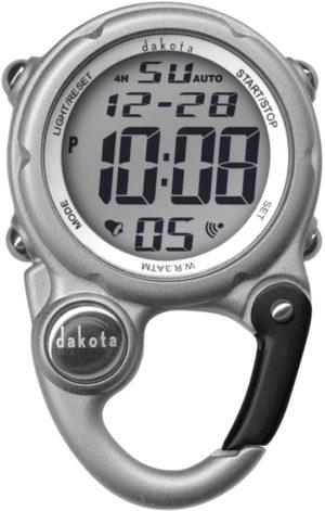 Dakota Digi Cute Clip Watch Silver