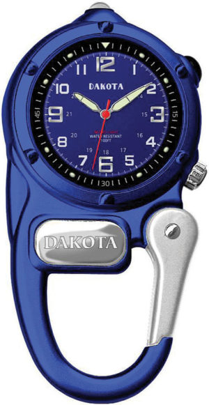 Dakota Mini Clip Microlight Watch Blu
