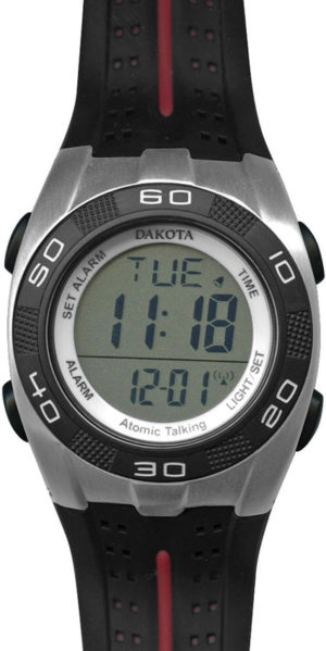 Dakota Atomic Talking Digital Watch