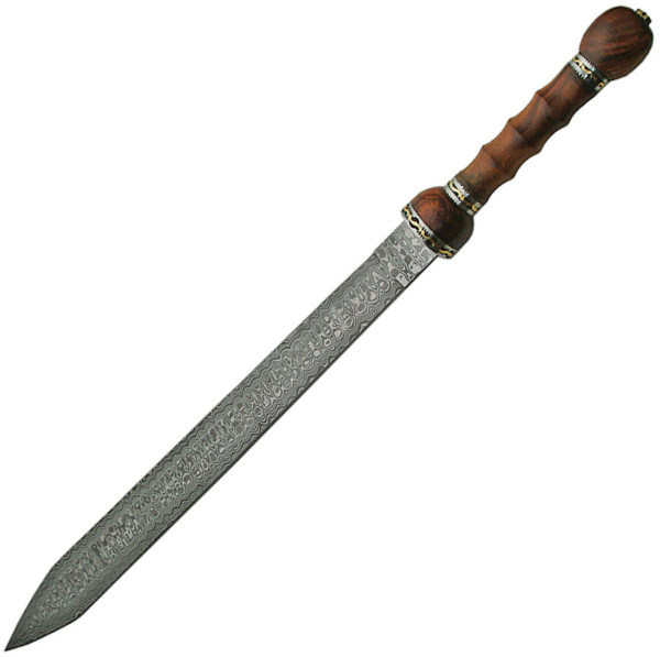 Damascus Rosewood Sword
