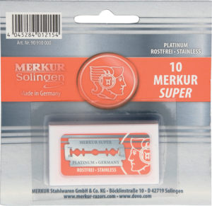 Merkur Replacement Blades Pack of 10