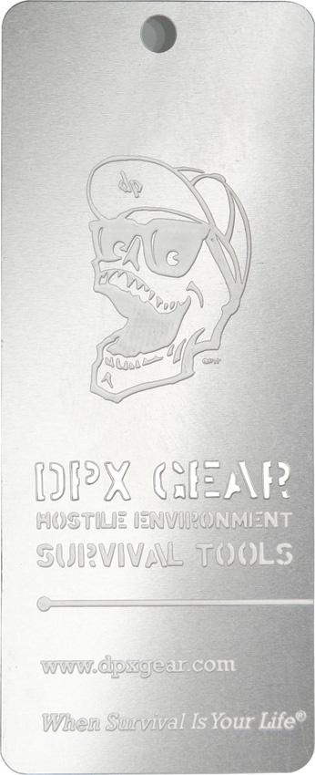 DPx Gear Danger Tag
