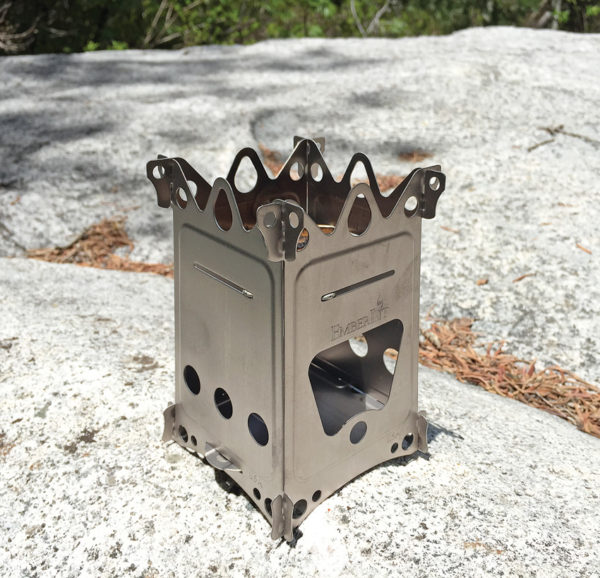 EmberLit FireAnt Camping Stove