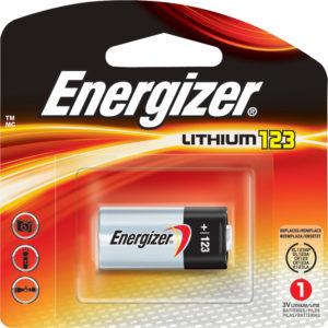 Energizer Lithium 123 3V Battery