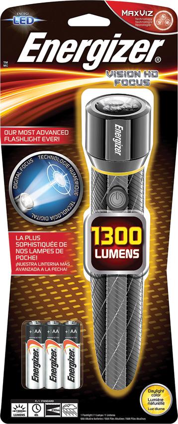Energizer Vision HD Focus Flashlight