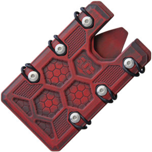 EOS 2.5 Wallet Red Black Cerakote